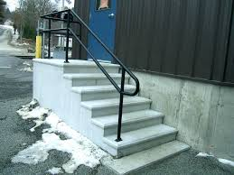 outdoor metal stair railing. Exterior Stair Handrails Metal Handrail Dimensions Deck Railing Requirements . Outdoor L