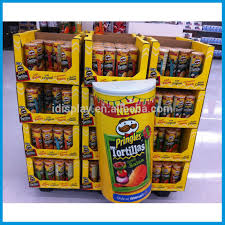 Potato Chip Display Stand Potato Chip Display StandFood Display RackPop Cardboard Pallet 2