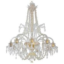 italian venetian murano glass chandelier vintage antique vintage regarding murano glass chandeliers gallery