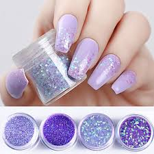 4 4ks Glitter Powder Glitter Na Nehty Design Nehtů 6575810 2019 1019