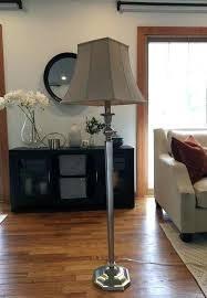 pottery barn floor lamps brushed silver lamp instructions shades canada