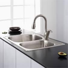 Single Basin Kitchen Sink Design Double Bowl Fresh Ceramic Sinkh