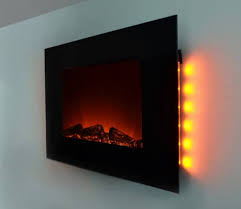 wall fireplace heater large 1500w heat adjule electric wall hanging electric fireplace heater design