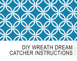 Dream Catcher Patterns Step By Step Diy dream catcher Etsy 34
