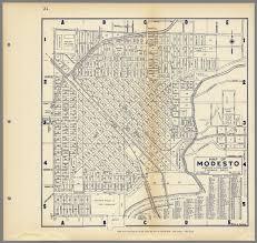 map of modesto  my blog