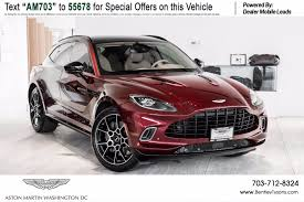 New Aston Martin Dbx For Sale In Washington Dc With Photos Autotrader