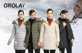Orolay Women S Thickened Down Jacket Size Chart Details About Orolay Womens Thickened Down Jacket Winter Coat Yrf8003q