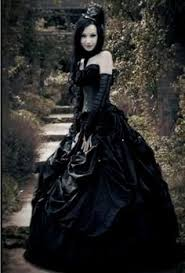 black gothic wedding dress naf dresses