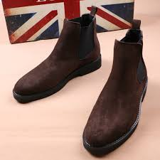 Its signature elastic side panel and rear leather loop make it elegantly simple to pull on. British Style Design Mens Fashion Soft Leather Boots Black Brown Chelsea Boot Nubuck Short Booties Point Toe Botas Hombre Shoes Chelsea Boots Aliexpress