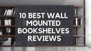 best wall mounted bookshelves reviews