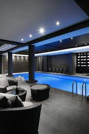 basement pool house. Incredible Indoor Swimming Pool Home Basement Modern House P