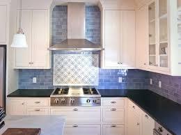blue kitchen designs. Stove Backsplash Design Blue Kitchen Designs D