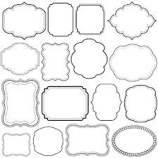 printable picture frame frames free photo templates children coloring es to and 4x6 template