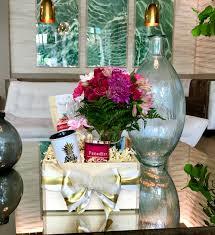Flower box design Balcony Chic Hot Pink Flower Box Ellery Designs Curated Gift Box Chic Hot Pink Flower Box Loveliest Gift Designs