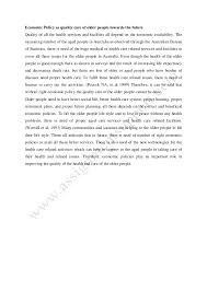 economic policy essay sample from assignmentsupport com essay writing 8