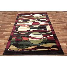 red and black area rugs modern circle swirl area rug color contemporary red black green cream red and black area rugs