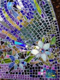 stained glass pieces funky mosaic flowers projects red mosaic flower made of broken china stained glass