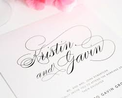 Calligraphy Fonts For Wedding Invitations Wedding Ideas