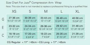 Mcdavid Compression Arm Sleeve Sizing Chart Juzo 6000cg Standard Short Stretch Compression Arm Wraps