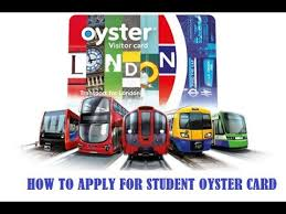 how to apply for oyster card oyster