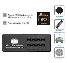 Box 1 4k Mk808b Amlogic Dongle 64bit Pro Android S905 Tv 5 7xwq46v