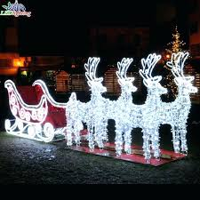 santa and reindeer outdoor decorations and reindeer outdoor decoration large outdoor sleigh large outdoor sleigh suppliers sleigh and reindeer outdoor santa