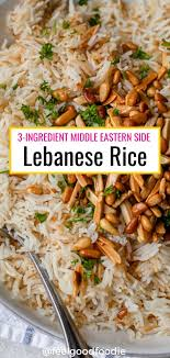 Pour in chicken broth and salt. Lebanese Rice Recipe In 2020 Rice Pilaf Side Dishes Lebanese Rice Recipe Lebanese Recipes