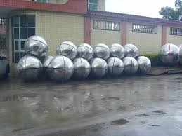 Decorative Metal Balls Large Decorative Stainless Steel Balls Stainless Steel Hemisphere 43
