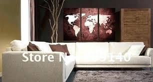home office artwork. Office Artwork Ideas Home Art Oil Painting Canvas Abstract World Map  Decoration High Quality .