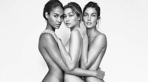 Gigi Hadid Gets Naked Sister Bella Makes Chanel Runway Debut as.