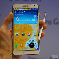 Samsung's Galaxy Note 3 is bigger ...