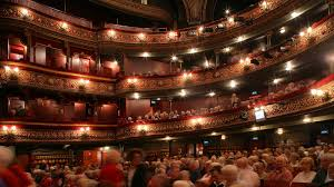 Opera House Seating Plan Modern Grand Belfast Gods Circle