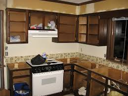Kitchen Rental Kitchen Cabinets Paint Over Wood Paneling Before - Better kitchens