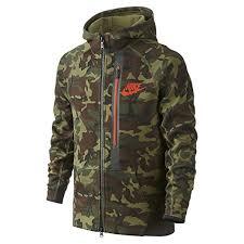 Clothing com large Hoodie 716805-355 Amazon Youth Full-zip Allover Fleece Boys Green Camo Tech Nike Print bfeeeba|New Orleans Saints
