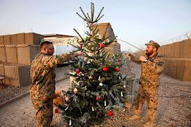 Eye On The World: Photos: Troops celebrate Christmas in ...