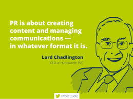 Pr Quotes Extraordinary PRisaboutcreating Contentandmanaging Communications Inwhateverformat