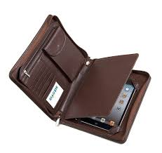padfolio ipad compact deluxe ipad mini leather portfolio fits ipad mini and