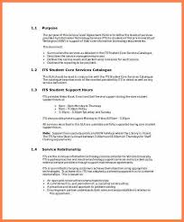 Shared Services Service Level Agreement Template Best 25 Service ...