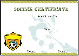 soccer awards templates 30 soccer award certificate templates free to download print