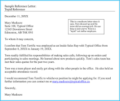 Sample Of A Recommendation Letter 20 Best Reference Letter Examples And Writing Tips