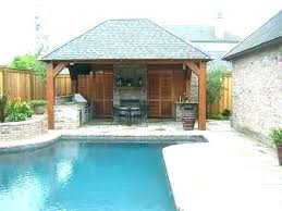 small pool cabana. Pool Cabana Ideas For Backyard Designs Outdoor . Small S