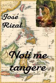 book cover ng noli me tangere noli me tangere espa ol english ebook by