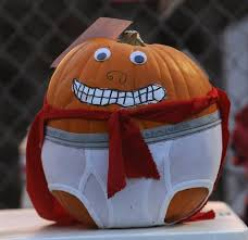 Image result for pumpkin decorated like a book