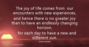 Life Experience Quotes Amazing New Experiences In Life Quotes