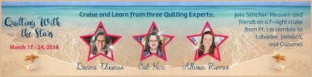 Quilting With The Stars Cruise 2018 & Quilting With The Stars Adamdwight.com