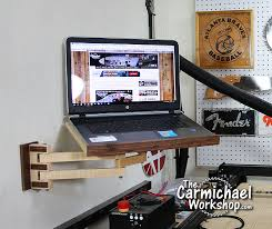 picture of laptop wall mount