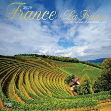 france 2019 wall calendar calendars books gifts