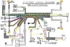 wiring diagrams  myrons mopeds avanti autopower and mont wiring