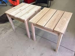 diy outdoor table diy side table