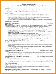 Example Functional Resume Best of Resume Executive Functional Resume